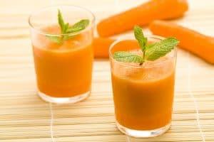 smoothie carrot orange